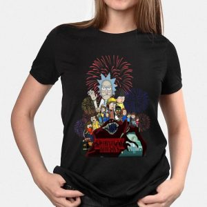 Schwifty Things Rick And Morty Stranger Things shirt