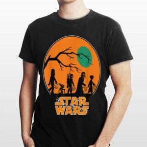 Star Wars Characters Halloween shirt