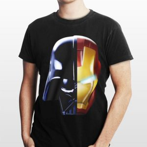 Star Wars Darth Vader Iron Man Avengers Endgame shirt