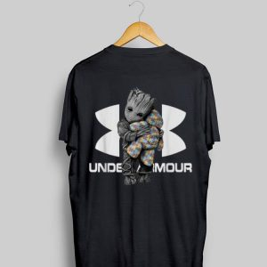 Teddy Bear Autism Under Armour Baby Groot shirt