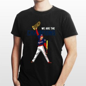 We Are The Champions Washington Nationals Freddie Mercury shirt