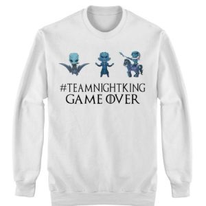 King Game Over Game Of Thrones Team Night shirt 2
