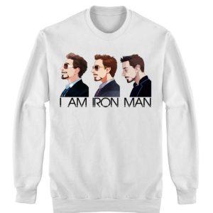 I am Iron Man Avengers Tony Stark shirt 2