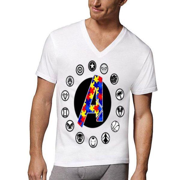 Autism Awareness The Avengers Endgame shirt