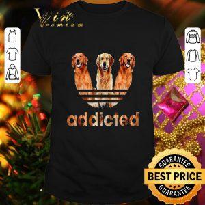 Awesome Golden Retriever addicted adidas shirt