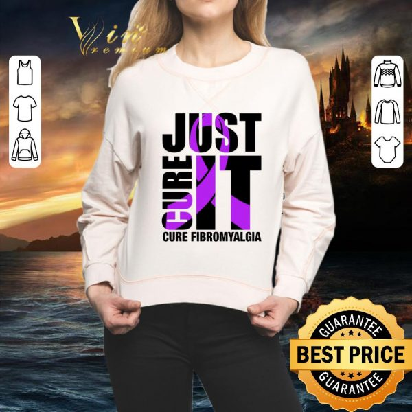 Awesome Just Cure It Cure Fibromyalgia shirt