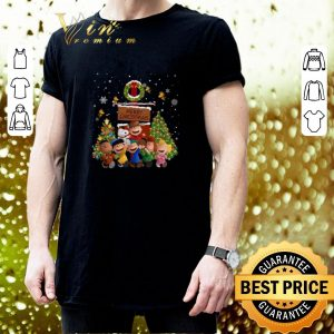 Awesome Peanuts characters Merry Christmas shirt 2