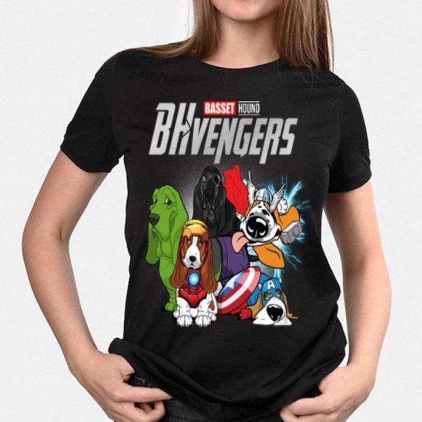 Basset Hound BHvengers Marvel Avengers Endgame shirt