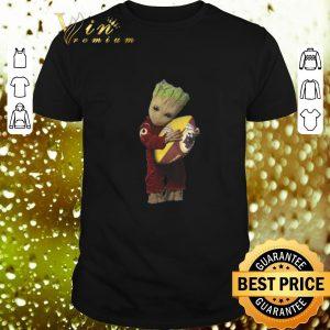 Best Baby Groot hug Washington Redskins NFL ball shirt