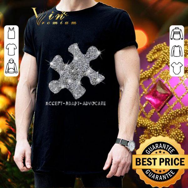 Best Diamond Puzzle Accept Adapt Advocate shirt