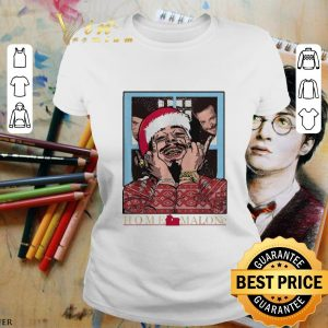 Best Home Malone Post Malone Christmas The Three Stooges shirt