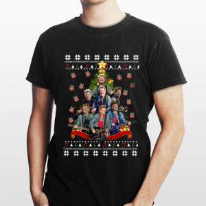 Bon Jovi Christmas tree ugly shirt