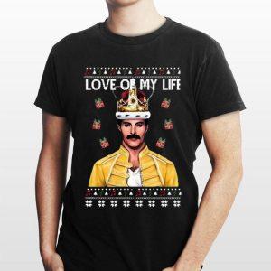 Freddie Mercury Love of my life ugly Christmas sweater