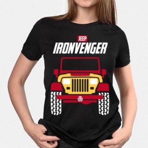 Jeep Ironvengers Iron Man Marvel Avengers Endgame shirt