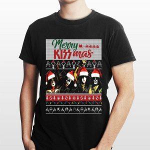 Merry Kiss mas ugly christmas sweater