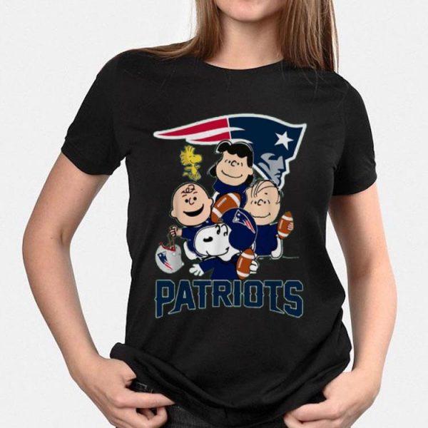 New England Patriots Charlie Brown Peanuts shirt