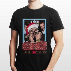 Post Malone Home Malone Christmas shirt