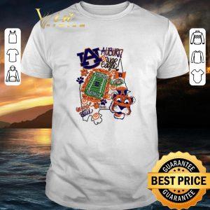 Pretty Auburn Tigers War Eagle Orange and blue shirt