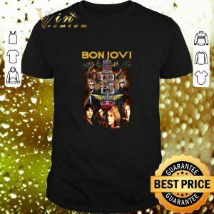 Pretty Bon Jovi band signatures guitarist shirt