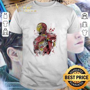 Pretty Iron Man watercolor shirt