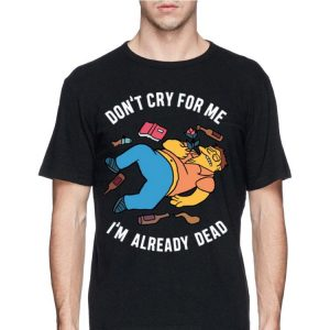 Simpsons Don't Cry For Me I'm Already Dead sweater