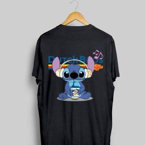 Stitch Listen To Music Drink Dutch Bros shirt
