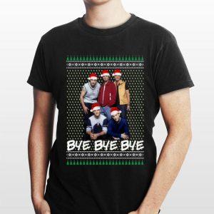Ugly Christmas Nsync Bye Bye Bye shirt