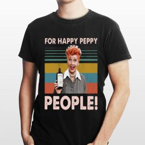 Vintage Lucy For Happy peppy People shirt