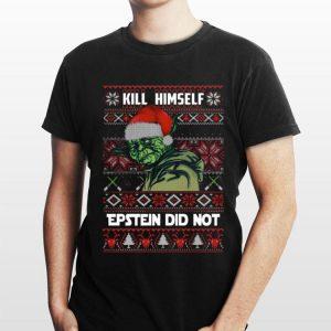 kill himself Epstein didnt ugly christmas Yoda shirt