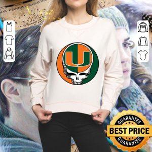 Awesome Miami Hurricanes mashup Grateful Dead shirt