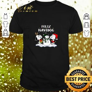 Awesome Snoopy Feliz Navidog Christmas shirt