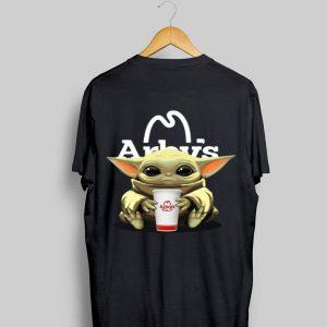 Baby Yoda Hug Arby's shirt