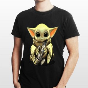 Baby Yoda Hug Combat Aircrafts shirt