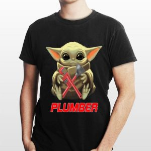 Baby Yoda Hug Plumber shirt