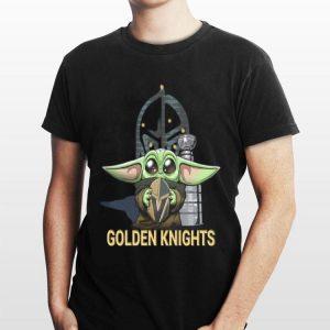 Baby Yoda Hug Vegas Golden Knights shirt