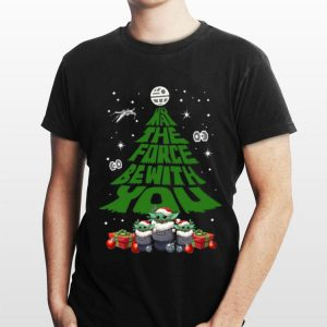 Baby Yoda May The Force Be With With You Christmas Tree sweater