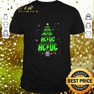 Best ACDC Merry Xmas for all Christmas tree shirt