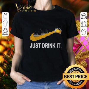 Best Adidas Beer Just Drink It shirt
