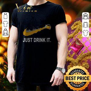 Best Adidas Beer Just Drink It shirt 2