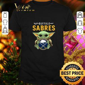Best Baby Yoda Hug Buffalo Sabres Star Wars shirt