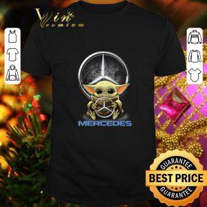 Best Baby Yoda hug Mercedes-Benz Star Wars shirt