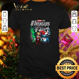 Best Boston Terrier BTvengers Marvel Avengers Endgame shirt