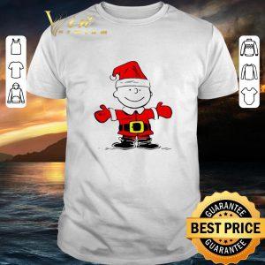 Best Santa Charlie Brown Merry Christmas shirt