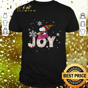 Best Snoopy Joy Woodstock Peanuts Christmas shirt