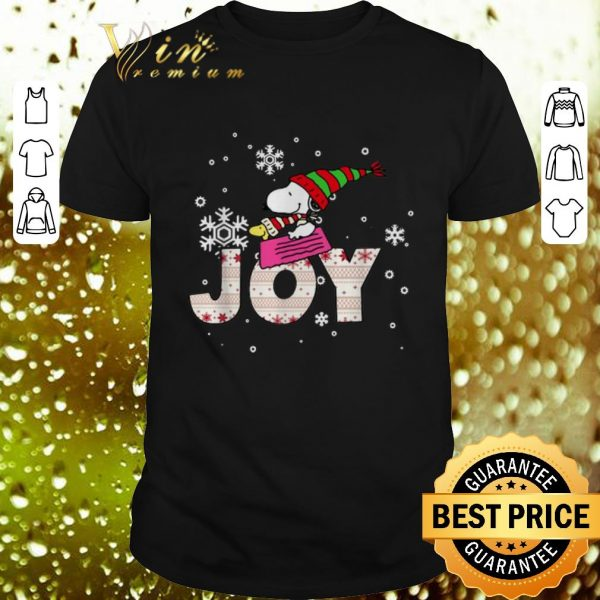 Best Snoopy Joy Woodstock Peanuts Christmas shirt
