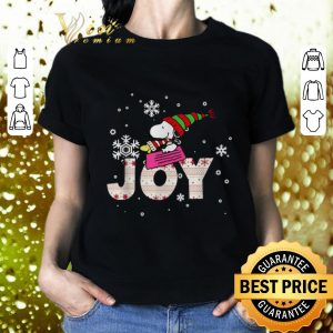 Best Snoopy Joy Woodstock Peanuts Christmas shirt 1