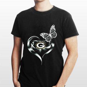 Butterfly Love Green Bay Packers shirt