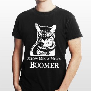 Cat Meow Meow Meow Boomer sweater