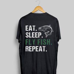 Eat Sleep Fly Fish Repeat shirt