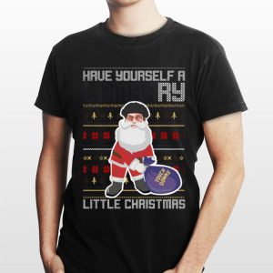 Have yourself a Merry listle chirtsmas Touch Downs ugly christmas sweater